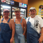 Gary Trombly, Owner, Big Gary's in Montville; Tim Smith, Owner, Climax Moonshine; Doug Preston, Sales Representative, Hartley & Parker.