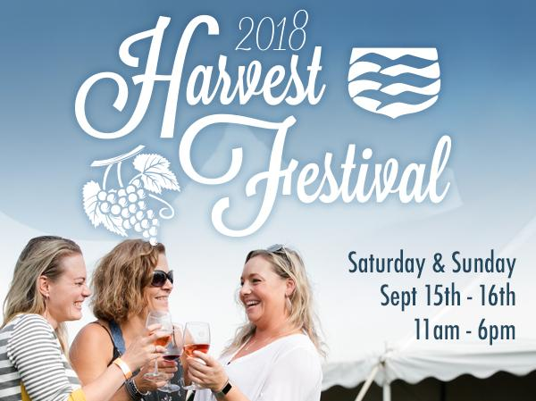 September 15 &16, 2018: Stonington Vineyards Harvest Festival