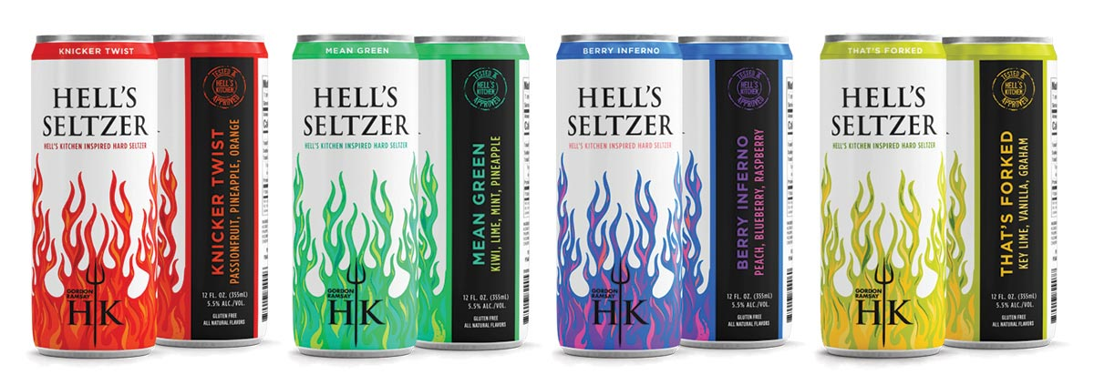Hell's Seltzer Line Launches in Rhode Island