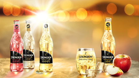 Strongbow Hard Apple Cider Made for Ice program.