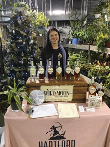 Hilary Brooks of Hartford Flavor Company during the charitable tasting at Smith's Acres in Niantic.