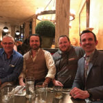 Tim Morrell, Regional Director, Constellation Brands; John Tsipouras, Sales Representative, Slocum & Sons; Kevin Randall, Lagunator CT, Lagunitas Brewing Co.; Jack Shute, General Manager, Northeast Spirits, Constellation Brands.