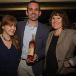 Laura Kanzler, Business Development Manager, Origin Beverage Co.; Jack Shute, Director of Sales East Region, High West; and Kate Palmer, Sales Director, Origin Beverage Co.