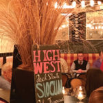 High West display during the spirit dinner on March 30.