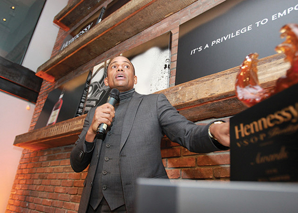 Hennessy Cognac Honors Actor at Annual Awards