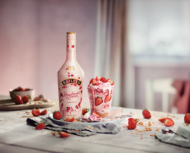 Baileys Releases Strawberries & Cream