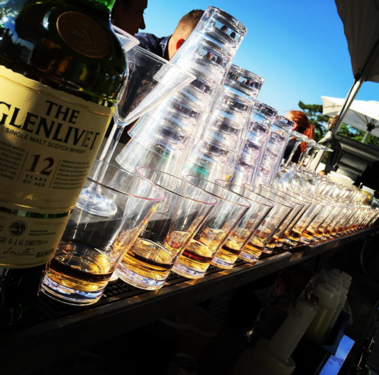 Whiskey Dinner at Hotel Viking Highlights Glenlivet