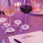 Wine and dinner menu. Photo by Meagan Emilia Photography.