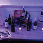 The wines featured at the opening reception served as a preview for the Viking Wine Festival dinner series.