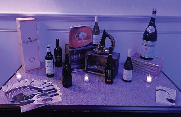 Hotel Viking Hosts Reception Preview for Wine Dinner Series