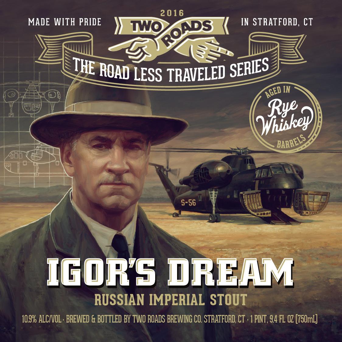 Two Roads Release Brews Honoring Igor Sikorsky