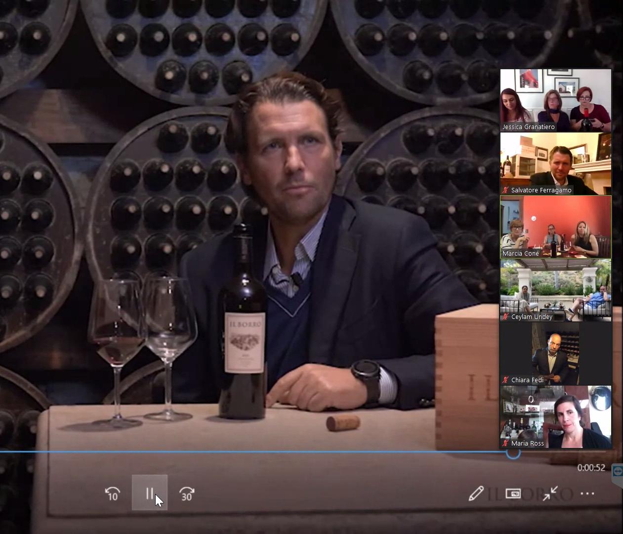 Savory Grape Hosts Virtual Tuscan Wine Tasting