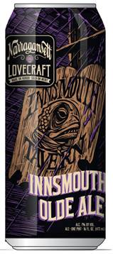 Narragansett Beer Releases Innsmouth Olde Ale