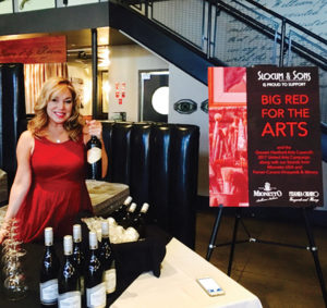 Donna Taylor from Vine Ventures, LLC poured Mionetto USA and Ferrari-Carano Vineyards and Winery for Slocum & Sons.