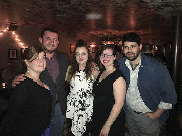 All USBG RI chapter members: Kristine Dunphy; Ian Single; Stephanie Merola; Elizabeth Sawtelle; and Ben Terry.