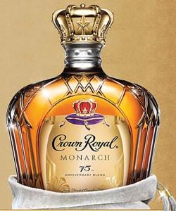 Crown Royal Monacrch 75th Anniversary Blend