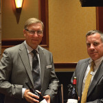 Paul Medlin, Eastern Division Manager, Hahn Family Wines; Andreas Sonju, Empire Regional Manager, Hahn Family Wines.
