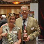 Emily Clarke, Marketing Manager and Tim Clarke, General Manager, Polly & Joan's Cordial Co.