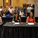 Judges for Iron Chef Event: Shawna Dietz, Beverage Director, Mills Tavern, Providence; Judy Laurens, Clancy Restaurant, Pawtucket; Ashley Chmela, Siena, Smithfield.
