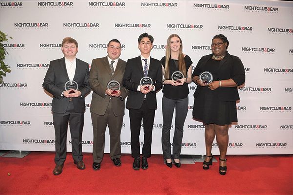 Johnson & Wales Students Recognized at Annual Bar Trade Show