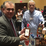 Keith Miranda, President, Johnson Brothers of RI and David Baker of Connecticut's Litchfield Distillery featured the new Litchfield Bourbon, Double Barrel Bourbon and Port Cask Bourbon. Litchfield Distillery launched with Johnson Brothers in September.