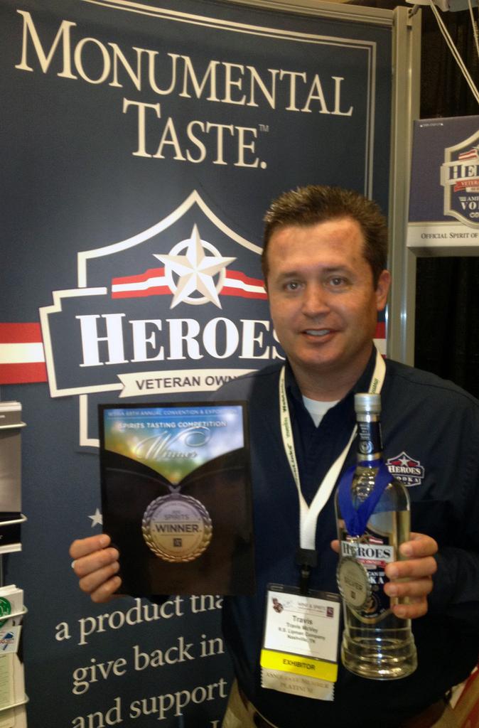 Heroes Vodka: A Toast to Sacrifice and Valor