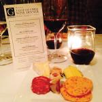 """Taste of Chile"" food and wine pairing menu. Wines from Huneeus Vinters included Ritual Sauvignon Blanc, Ritual Pinot Noir, Primus Cabernet Sauvignon and Neyen Espiritu de Apalta."