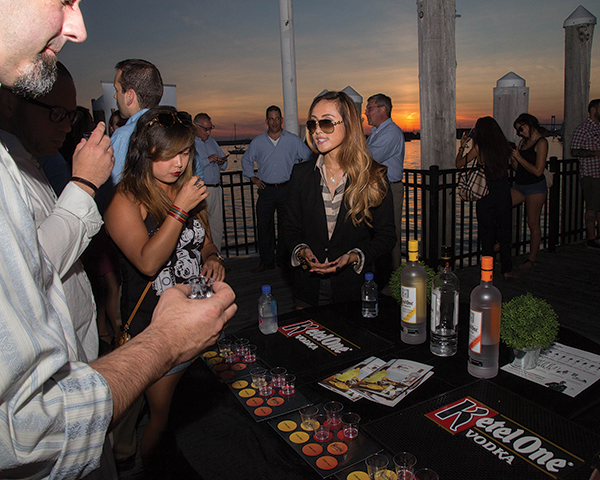 Newport Harbor Provides Sunset Backdrop for Ketel One