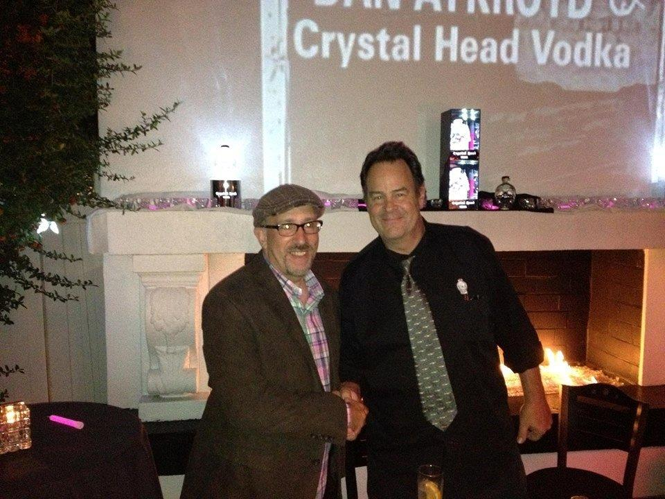 Crystal Head Vodka and Aykroyd Featured in Providence