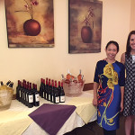 Chu Ngo, Owner, Lan Chi's Vietnamese Restaurant with Marcia Passavant, Senior Brand Manager, Slocum & Sons. Wines included 2015 Cuvelier Los Andes Malbec Rosé from Argentina, 2014 Ritual Pinot Noir from Chile, 2012 Primus Cabernet Sauvignon from Chile, 2014 Carrau Sauvignon Blanc Sur Lue from Uruguay and a Cleto Chiarli Centenario Lambrusco Amabile from Italy.