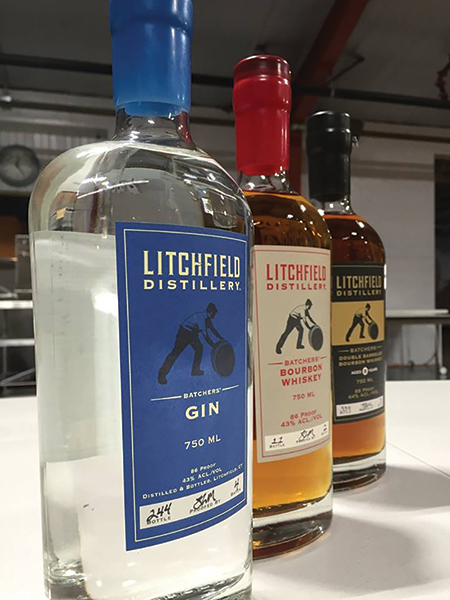 Slocum & Sons Sales Team Visits Litchfield Distillery