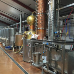 Inside Litchfield Distillery.