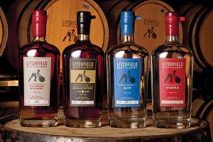 Litchfield Distillery Bourbon portfolio.