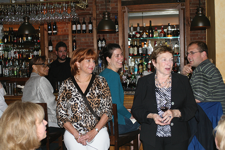 MAYES VISITS CONNECTICUT TO PROMOTE WINE LINE
