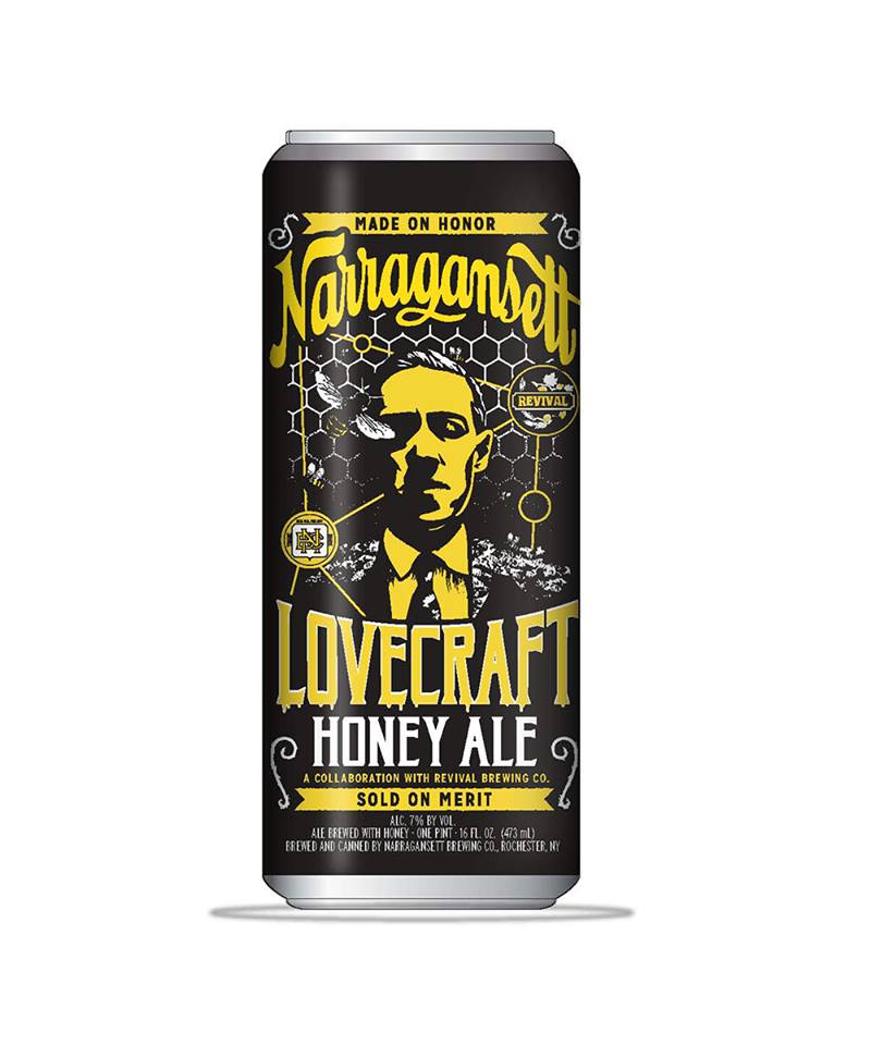 Narragansett Offers New H.P. Lovecraft Honey Ale