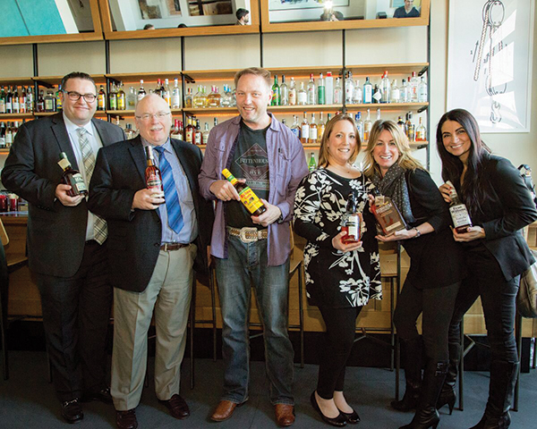 Lubbers Visits for Whiskey Tasting and Brand Education
