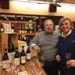 Ira Smith, Owner, Kent Wine and Spirits with Luca Currado, Winemaker, Vietti Winery, during the in-store Vietti Wine tasting in January.