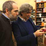 Currado during the in-store tasting at Kent Wine and Spirits.
