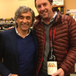 Currado and a guest during the Kent Wine and Spirits in-store tasting.