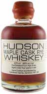 Hudson's Seasonal Maple Cask Rye Returns