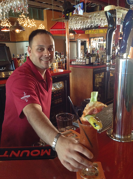 """Serving Up: The Barking Crab Seafood & Bar's """"The Crabby Mary"""""""