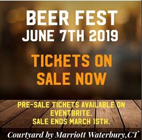 June 7, 2019: Second Annual Spring Beer Fest