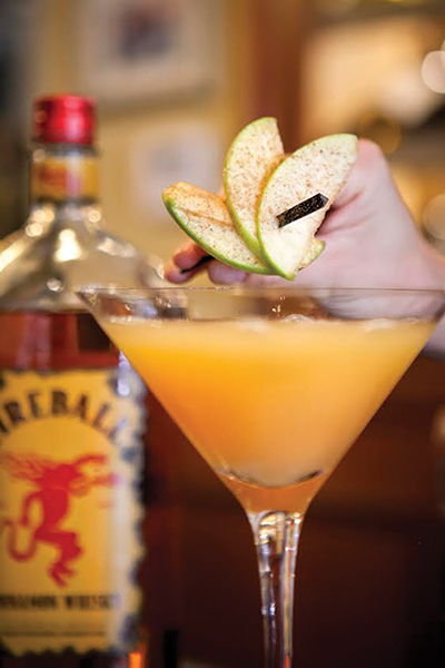 "Serving Up: ""Spiced Cider Martini"" at Andino's"