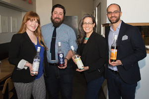Laura Kanzler, Business Development Manager, Horizon Beverage, Origin Division; Joe Landolfi, Brand Manager Market Street Spirits, Opici Family Distributing; Sophie Daniels, Northeast Region Manager, Opici Family Distributing; Mateo Meletti, Meletti Italian Liqueurs.