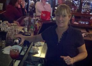 Bartender Melissa Altenerand