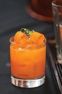 Mercado's winning original cocktail, Roots.