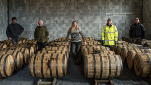 Louise McGuane is a leader in the revival of whiskey bonding in Ireland, which practically disappeared in the 1930s; under the J.J. Corry label, she blends and matures whiskies from multiple sources.