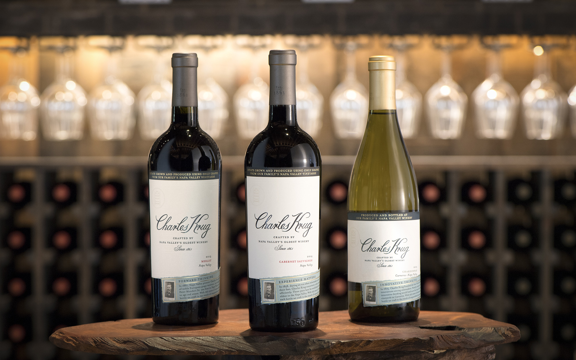 Charles Krug Launches New Packaging