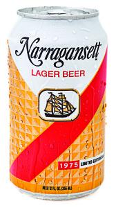 1975 throwback Narragansett Beer can.
