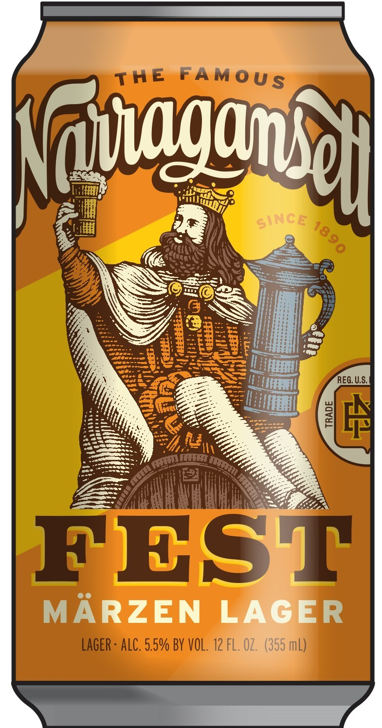 Narragansett Beer Announces Fest Märzen Lager Is Back for Fall